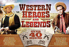 Western Heroes and Legends - 22 Movies and 20 TV Episodes