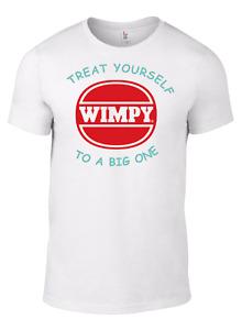 WIMPY Big One Retro T-SHIRT logo geek 70s 80s atari funny movie vintage cd BBC W