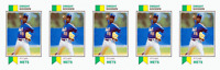 (5) 1993 SCD #38 Dwight Gooden Baseball Card Lot New York Mets