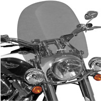 Cruise Series Windscreen For 1 1/4in. Bars~2004 Honda VT1100C2 Shadow Sabre