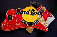 HRC HARD ROCK CAFE Stockholm Fireman ha + AXE le500 Fire 3rd May 1999