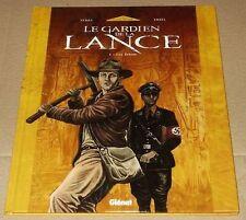 Ex-libris ERSEL Le gardien de la lance 150ex num signé A4