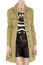 Alice by Temperley Sand Cotton-Twill Trench Coat. UK 10 US 6 EU 38  RRP £220.