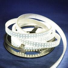 Double Row 3528 LED Strip 5M 240Leds/M  White Light  IP67 Waterproof 12V DC