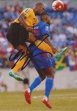 Giamaica & Leicester: Wes Morgan firmata 6x4 FOTO D'AZIONE + COA
