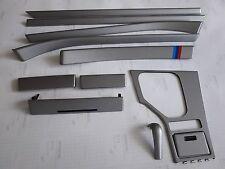BMW e39 5 series Brushed Titan Fiber Wrapped Interior Trim Set with M Tech color
