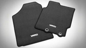 Toyota Yaris Carpet Floor Mat Set (Front & Rear) Genuine PZQ2052140 2011-2020