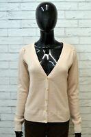 Cardigan Pullover Donna LEVI'S Taglia L Sweater Woman Maglione in Cotone e Lana