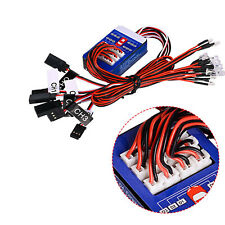 12 LED Lights Steering System Lighting Kit for TAMIYA TT-01 SCX10 CC01 RC Car