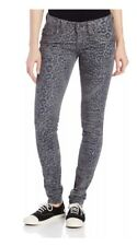 Miss Me 25x30 Skinny Jeans Leopard Cargo Buckle 24 26 Animal Legging