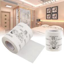 Kamasutra Toilet Paper Funny Pattern Joke Funny Gift Bathroom Sex Gag Novelty W5
