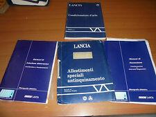LANCIA ANNI 80 / 90 STOCK E CATALOGHI COME DA FOTO 4 PEZZI