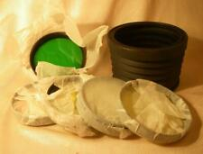 LENS HOOD & 5 FILTER UV Yellow-green Orange for 300mm TAIR-3S ZENIT-Photosniper
