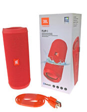 JBL FLIP 4 Bluetooth Lautsprecher Soundbox Wasserfest Freisprechen Musik Rot