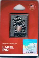 2012 London Antiqued British Lion USA Olympic Team NOC Pin New in Package