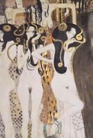 Gustav Klimt The Gorgons and Typheus. - Poster 24x36 inch