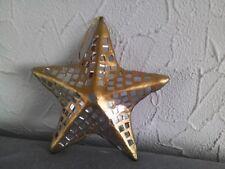 Goldener Stern mit Mosaikspiegel 18 cm  Art. 135