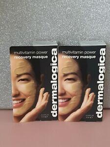 2 x Dermalogica multivitamin power recovery masque 15ml brand new