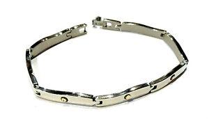 Bijou acier S Steel bracelet bicolore bangle