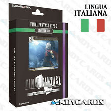 ITALIANO ☻ Starter Deck Final Fantasy Type-0 ☻ ITA ☻ FF TCG ANDYCARDS