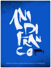 Ani DiFranco September 2012 Limited Edition Gig Poster