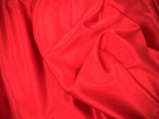 Red Slipper Satin/Silky/Shiny Dress Fabric 150cm Wide SOLD BY THE METRE FREE P+P