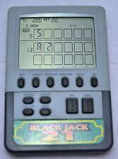 Radio Shack Black Jack 21 Electronic Handheld Travel Pocket Game 60-2418 Tandy