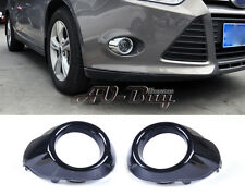 2X FRONT FOG LIGHTS MASK FRAME LAMP RING COVER TRIM FOR 2012 FORD FOCUS