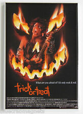 Trick or Treat FRIDGE MAGNET (2 x 3 inches) movie poster horror 1986