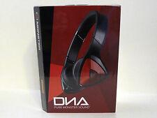 MONSTER DNA On-Ear Headphones - Black Red... NEW!