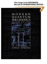 Modern Quantum Mechanics by J.J. Sakurai, (2010)(Int' Ed Paperback)2 Ed