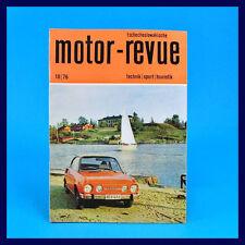 DDR - Motor-Revue 10-1976  (tschechoslowakische) Skoda Jawa  CZ Tatra