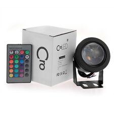 RGB LED Leuchte Lampe Spot Strahler mit Fernbedienung 16 Wasserdicht Farbwechsel