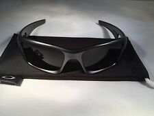 Oakley Crankcase Steel With Dark Grey Lens oo9165-14 56/17 125 FREE SHIPPING