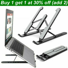 More details for adjustable laptop stand folding portable desktop holder office support
