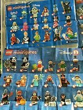 LEGO SERIES  ~ DISNEY SERIES 1 AND 2 ~  MINIFIGURES .. CHOOSE FIGURE