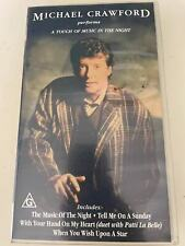 VHS:  MICHAEL CRAWFORD -  A TOUCH MUSIC THE NIGHT