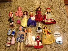 Vintage set of dolls - unique old collectible