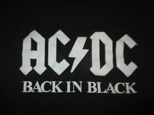 "Rockware 2005 AC DC ""Back in Black"" (XL) T-Shirt ANGUS YOUNG"