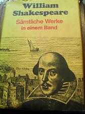 William Shakespeare - Sämtliche Werke in einem Band in deutscher Sprache