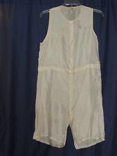 New listing Edwardian - 1920 Rockinchair Silk Underwear / 1 Piece Boxers / Undershirt c - 44