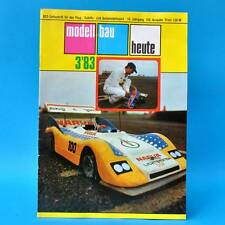 Modellbau heute 3/1983 GST DDR Flugmodellbau Schiffsmodellbau | Raddampfer