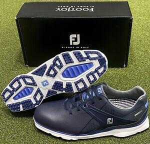 FootJoy Pro SL Spikeless Golf Shoes 53812 Navy/Blue 10.5 Medium (D) NEW #83149