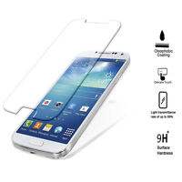 Tempered Glass Screen Protector for Samsung S4, Olephobic Coating, Anti Glare-9H