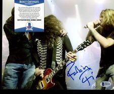D08560 Robin Finck 8x10 Photo Signed AUTO Autograph Beckett BAS COA