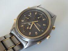 Seiko Titanium Chronograph SQ100 gents watch 7T32-6J20 spares/repairs