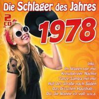 DIE SCHLAGER DES JAHRES 1978  2 CD NEU