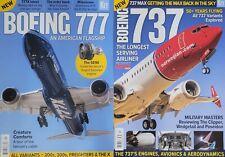 Lot Of 2 Key Presents Boeing 737 / Boeing 777 American Flagship KEY Magazines