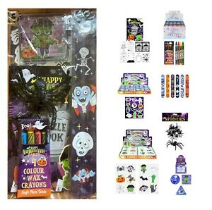 Pre Filled Halloween Party Bag Girl Boy Unisex Trick Or Treat 7 Bag Toy Fillers