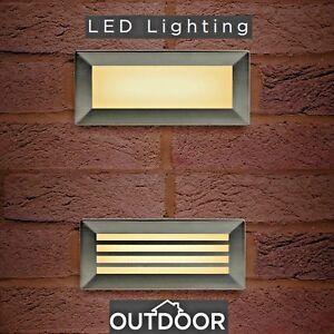 LED Brick Light wall Recessed IP65 Stainless Steel Outdoor Bricklight Garden